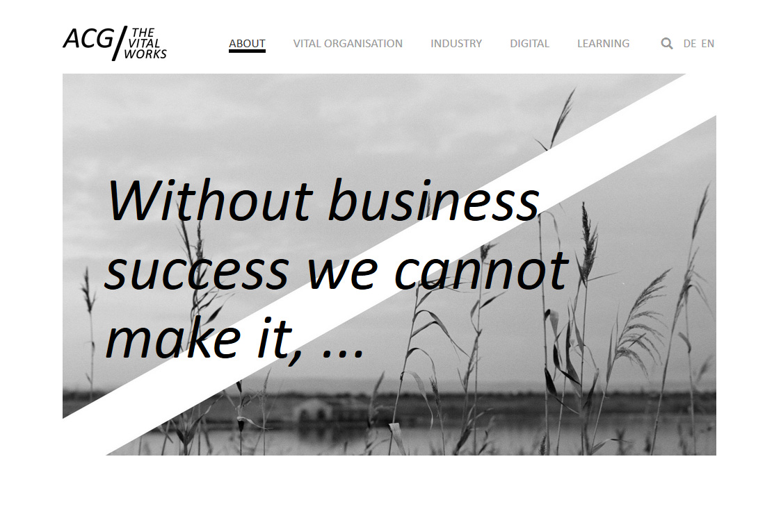 sitedefinition / AEON Consulting Group / Website + CMS